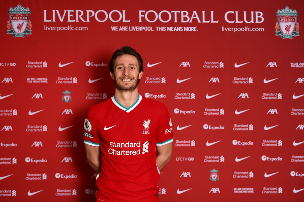 Liverpool Unveil New Signing Ben Davies